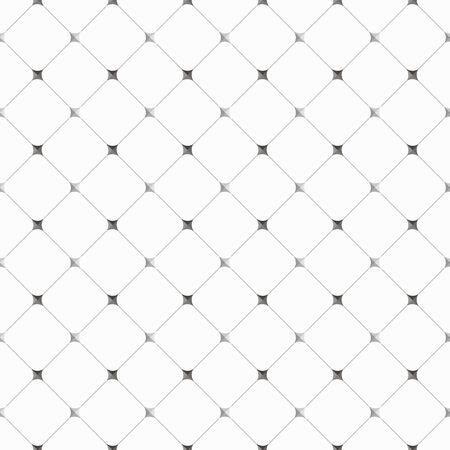 seamless, sfondo geometrico nei colori bianco e grigio, illustrazione vettoriale