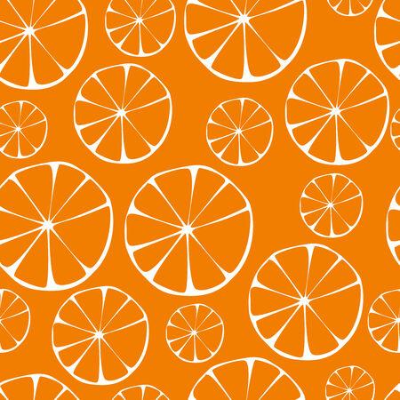 Vector orange pattern, seamless background  photo