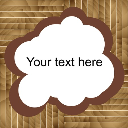 tables wooden brown with place for text,sawmill, vector Zdjęcie Seryjne - 25937779