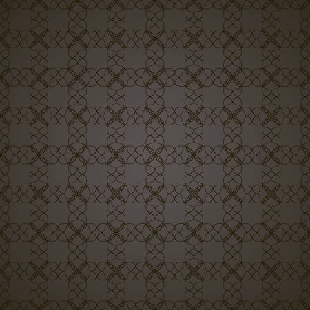 seamless pattern, dark background with black elements, geometric design, vector illustration