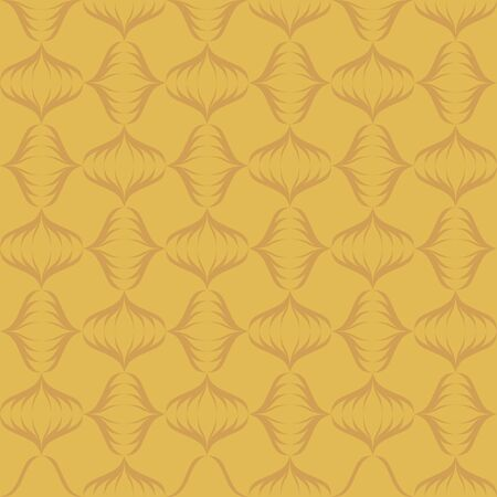 seamless pattern, background with yellow elements, geometric design, vector illustration
