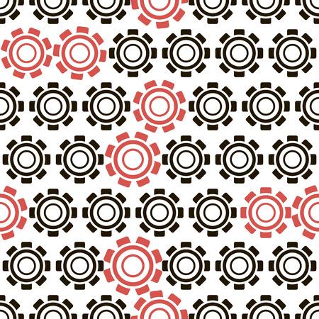 Sin patrón, fondo oscuro con cremallera negro y rojo, diseño geométrico, ilustración vectorial Foto de archivo - 26343732