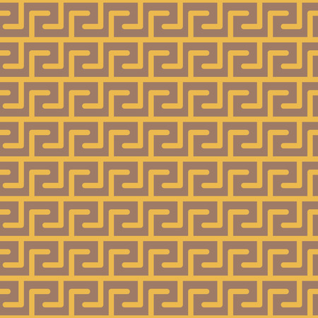 vector background, seamless pattern with yellow elements, geometric design, vector illustration Illustration