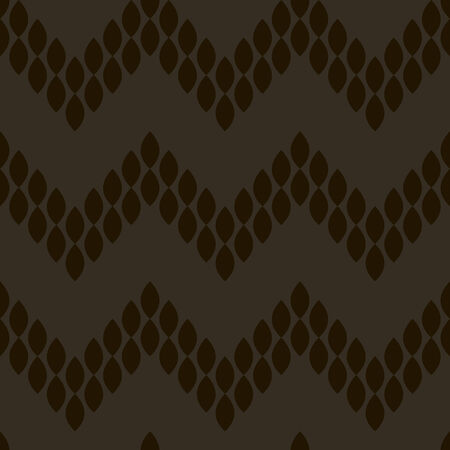 vector background, abstract seamless pattern with black backdrop and elements, geometric design, vector illustration Vettoriali