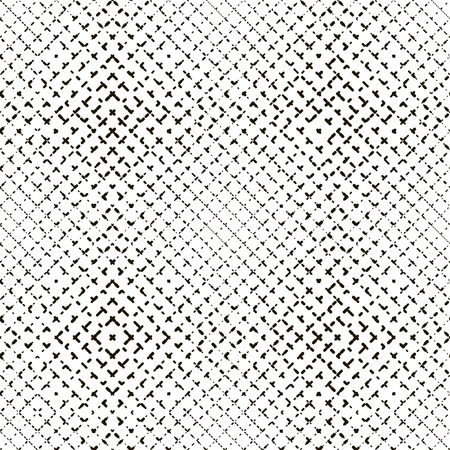 seamless pattern with black elements on a white background