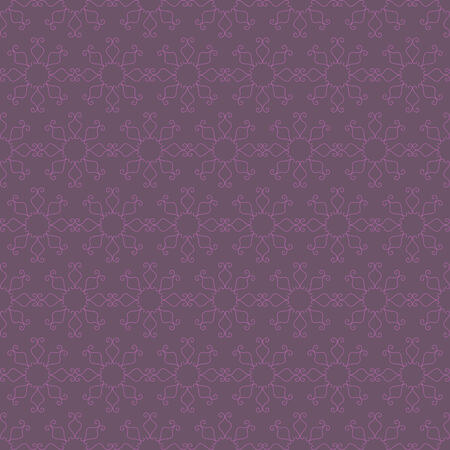 vector background, abstract seamless pattern with violet elements, geometric design, vector illustration