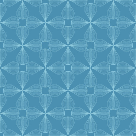 vector background,  seamless pattern with blue elements, geometric design, vector illustration 向量圖像