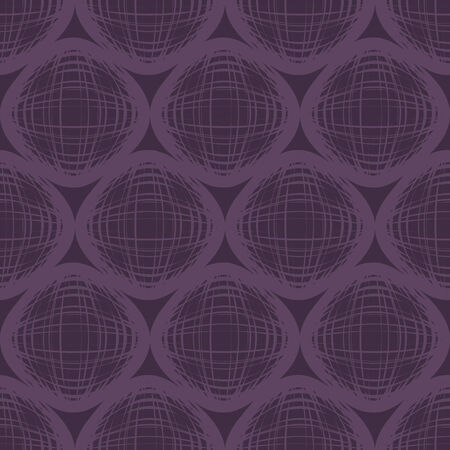 vector background,  seamless pattern with violet and yellow  elements, geometric design, vector illustration