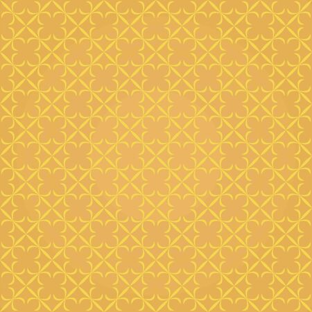 vector background,  seamless pattern with yellow and orange elements, geometric design, vector illustration