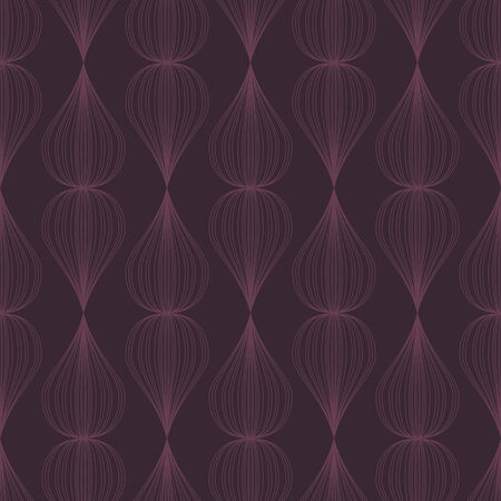 vector background,  seamless pattern with violet elements, geometric design, vector illustration