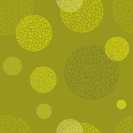 vector background with green-yellow elements, geometric design, vector illustration Vettoriali