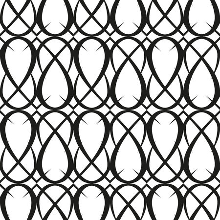 vector background with black elements, geometric design, vector illustration