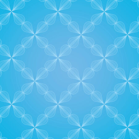 vector background with blue elements, geometric design, vector illustration