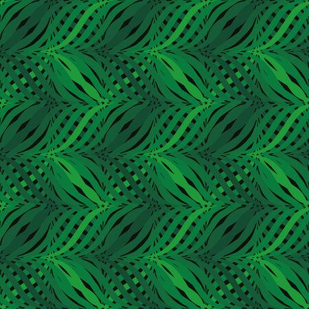 vector background with green elements, geometric design, vector illustration Illustration