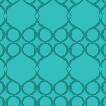 vector background, seamless pattern with blue elements, geometric design, vector illustration