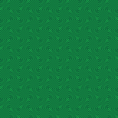 seamless pattern with green elements, geometric design