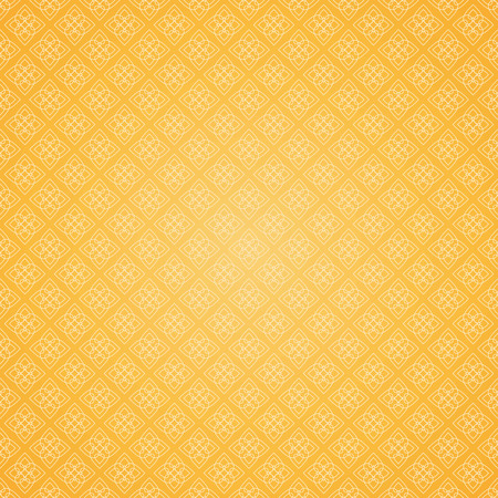 seamless pattern with yellow and white elements, geometric design Ilustração