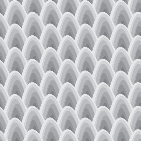 seamless pattern with gray elements, geometric design