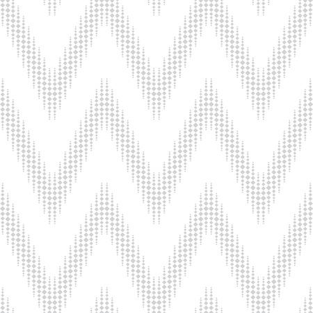 seamless pattern with light gray elements, geometric design