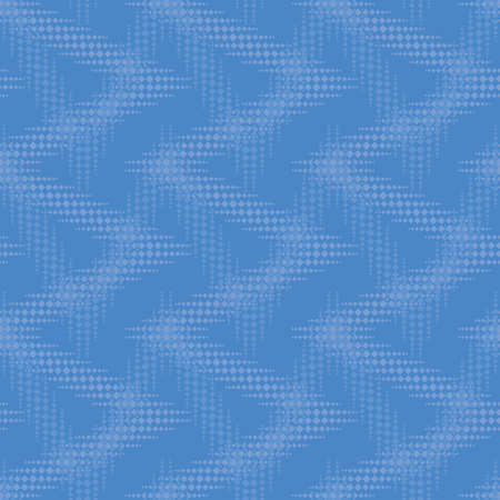 seamless pattern with blue elements, geometric design
