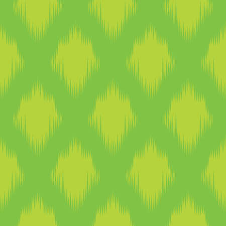 unusual seamless pattern with green elements, geometric design