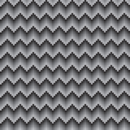 vector background, unusual seamless pattern with gray, black and white elements, geometric design, vector illustration