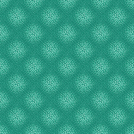 vector background, unusual seamless pattern with  turquoise elements, geometric design, vector illustration
