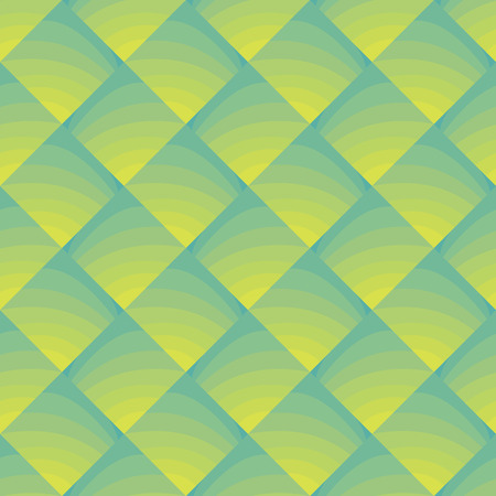 vector background, unusual seamless pattern with  turuoise and yellow elements, geometric design, vector illustration