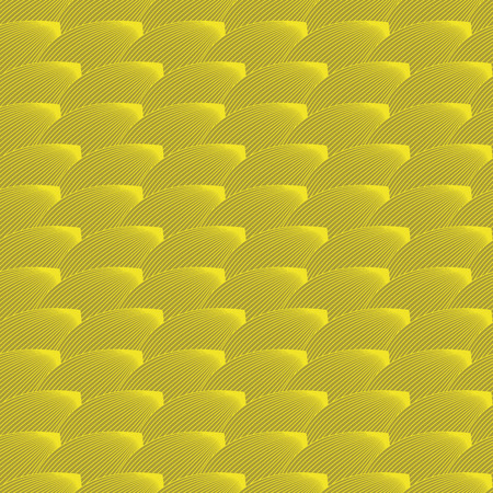 vector background, unusual seamless pattern with  yellow elements, geometric design, vector illustration Ilustracja