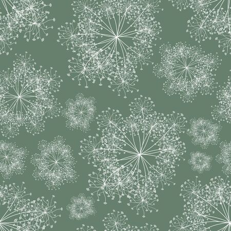 vector background, unusual seamless pattern with white elements, geometric design, vector illustration