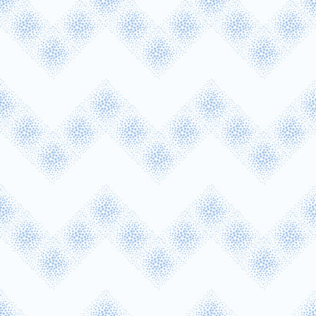 vector background, unusual seamless pattern with blue point elements, geometric design, vector illustration