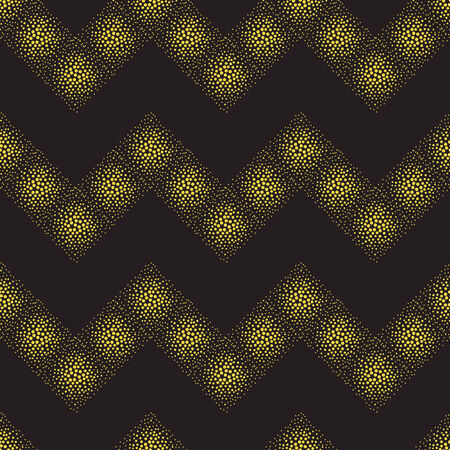 vector background, unusual seamless pattern with  black and yellow point elements, geometric design, vector illustration