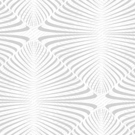 vector background, unusual seamless pattern with gray elements, geometric design, vector illustration Vettoriali