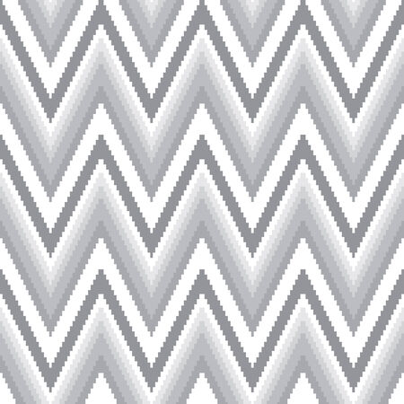vector background, unusual seamless pattern with  gray and white elements, geometric design, vector illustration