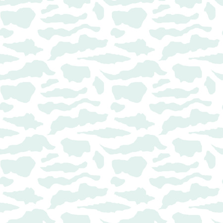 vector background, unusual seamless pattern with  blue and white elements, geometric design, vector illustration