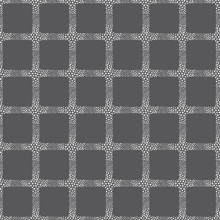vector background, unusual seamless pattern with  gray and white circle elements, geometric design, vector illustration