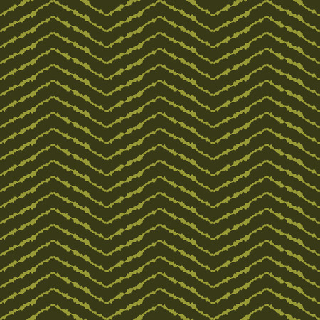 vector background, unusual seamless pattern with  green elements, geometric design, vector illustration