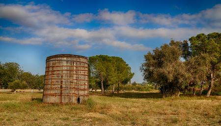 Wine barrel in Valls, Tarragona
