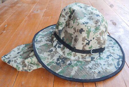Patterned cloth cap