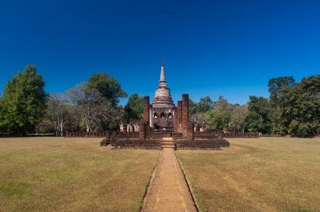 Wat Chang Lom in Sukhothai Historical Park