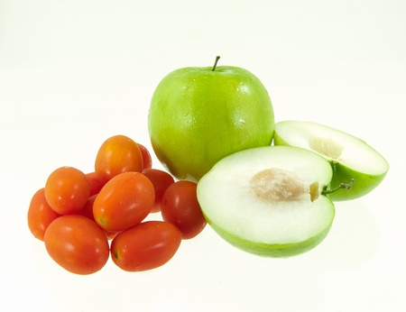 Jujube fruit and tomatoes Stock Photo - 17312359