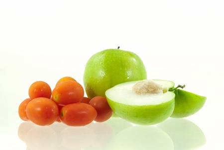 Jujube fruit and tomatoes Stock Photo - 17362081