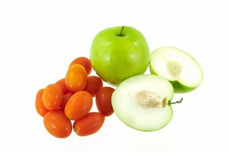 Jujube fruit and tomatoes Stock Photo - 17362084