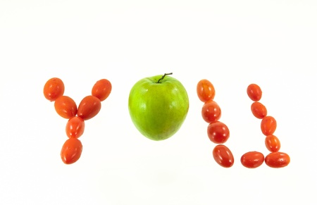 Tomato is you Stock Photo - 17362047