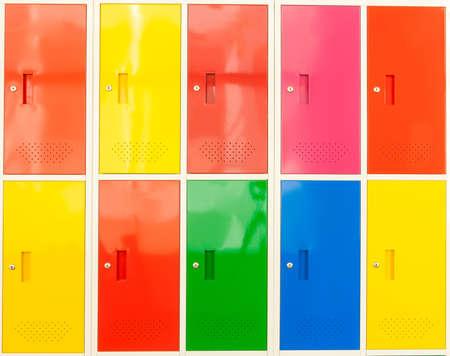 Colorful locker