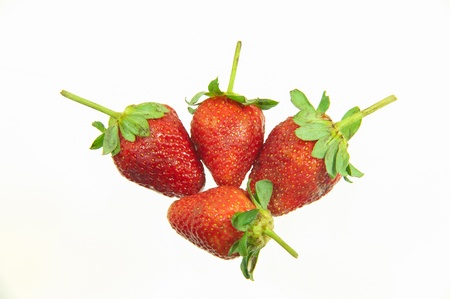 Strawberry on a white background