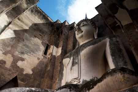 Big Buddha in Sukhothai Historical Park photo