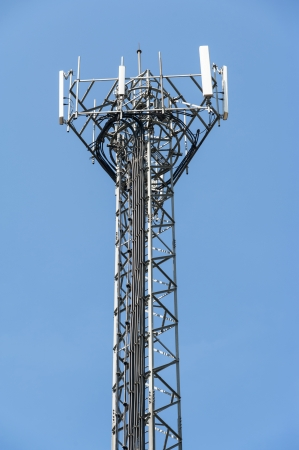 Antenna for mobile devices. Communications and telecommunications photo