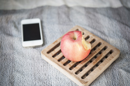Phone with Apple