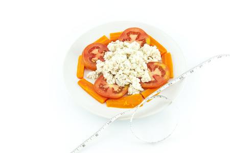 good health: Vetarm dieet om gewicht te verliezen en voor een goede gezondheid. Stockfoto